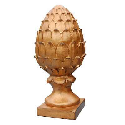 Hickory Manor Pineapple Finial/GOLD LEAF - 6310GL