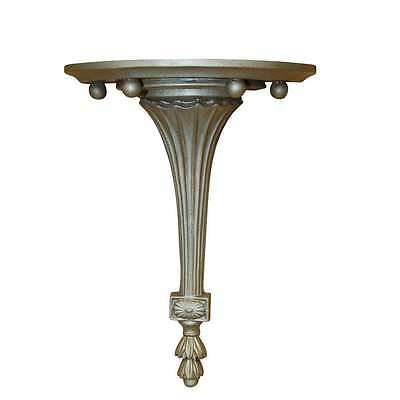 Hickory Manor Fluted Bracket/Gilt Silver - 6717GS