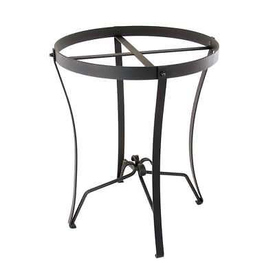 ACHLA Wrought Iron Stand: Round (For C-50 & C-70) - FB-08