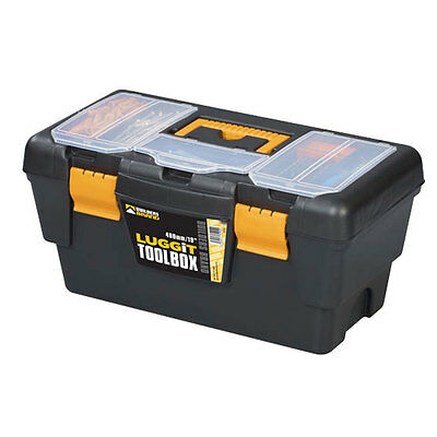 "New Tool Box Boxes Storage Case 19"" - ToolBox Removable Tray DIY Tools"