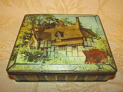 Vintage Collectable Edward Sharp & Sons Ltd. Tin Box