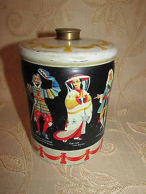 Vintage Collectable '' Figurines '' Tin