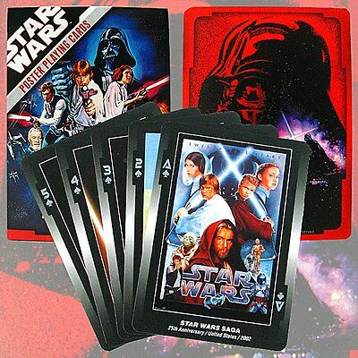 Star Wars Movie Posters set of 52 playing cards (wg)