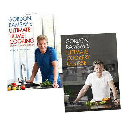 Gordon Ramsay's Collection 2 Books Set,Ultimate Home Cooking & Ultimate Cookery
