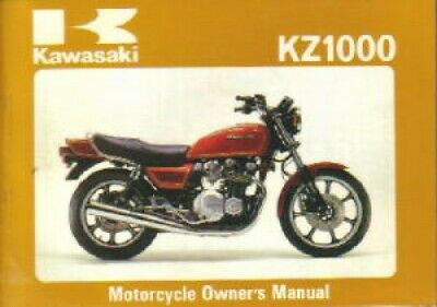1981 Kawasaki KZ1000J1 Sports Motorcycle Owners Manual - 800-426-4214