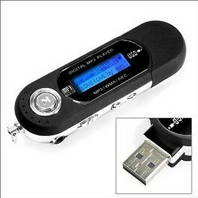 Hot WMA MP3 Music Player Digital Voice Recorder Function LCD USB FLash Memery
