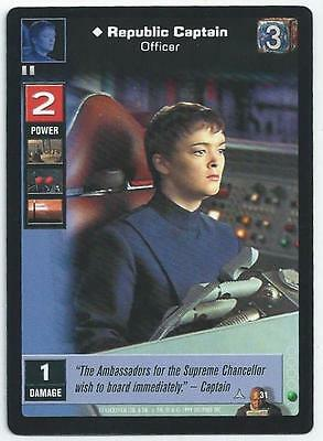 Star Wars Young Jedi - Card 031 - Republic Captain (Abnj)
