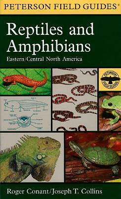 A Field Guide to Reptiles & Amphibians By Conant, Roger/ Collins, Joseph T.