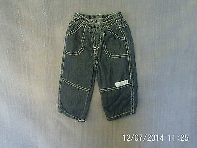 Baby Boys 3-6 Months - Spring/Summer Blue Jeans, Lined - Disney's Tigger