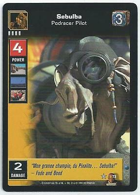Star Wars Young Jedi - Card 073 - Sebulba (Abot)