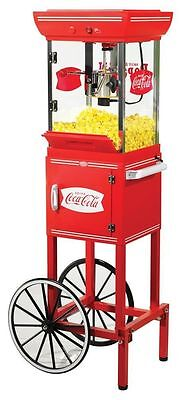 NEW Nostalgia Electrics Popcorn Popper Maker Kettle Machine Circus Stand 48""