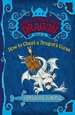 How to Cheat a Dragon's Curse by Cressida Cowell (English) Hardcover Book Free S