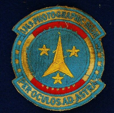 USAF 1369 Photographic Squadron Theater Made Vietnam Patch