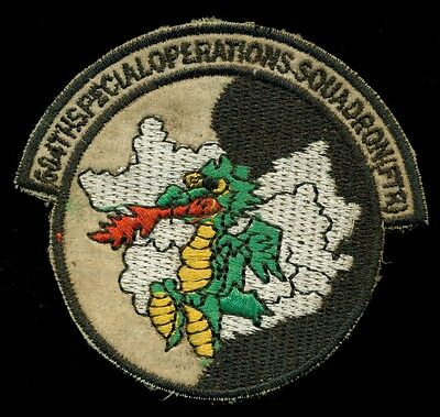 USAF 604th Special Operations Squadron (FTR) SOS Theater Made Vietnam Patch