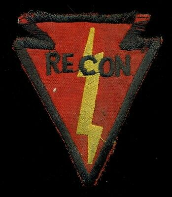US Army 25th Infantry Division Recon Vietnam Theater Made Patch