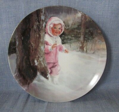 PEMBERTON & OATES COLLECTOR PLATE ( SNOWY ADVENTURE ) FOURTH ISSUE IN SERIES