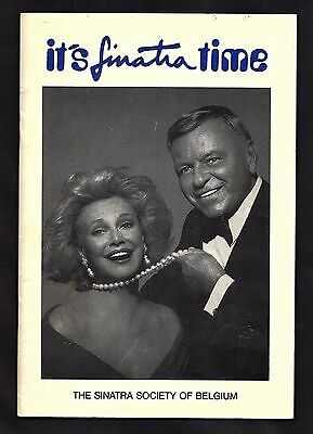 Frank Sinatra Society Of Belgium Programme ? Booklet 1990 Tour Dates Songbook