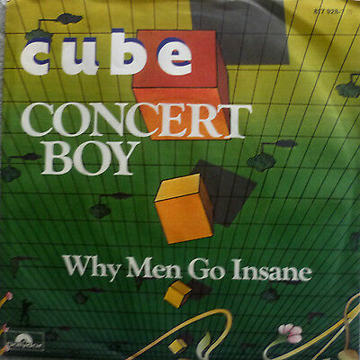 "7"" 1984 RARE IN MINT-! THE CUBE : Concert Boiy"