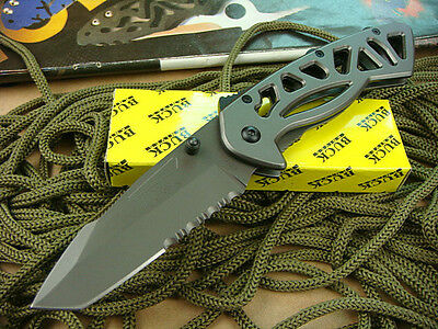 Buck Knife Saber with clip Folding Pocket Knife Camping Hunting knife ljf32b HOT
