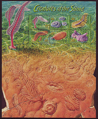 AUSTRALIA 2005 CREATURES OF THE SLIME MINIATURE SHEET UNMOUNTED MINT, MNH