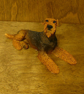 Castagna Dog Figurines #891 AIREDALE, Made in Italy, NEW From our Retail Shop