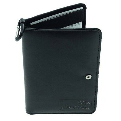 Colin Montgomerie Golf Deluxe Leather Scorecard Holder