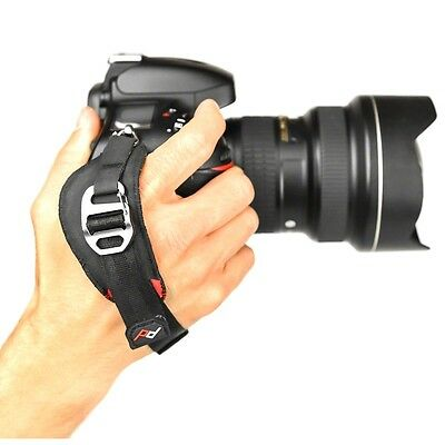 Peak Design Clutch CL-2. Pro Hand Strap with ARCA Tripod Plate for Cameras.