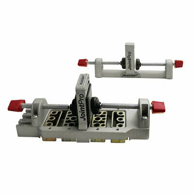 Milescraft 1311 Drill JointPro Metal Doweling Jig W/ Changeable Bushing Blocks