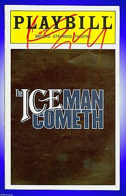 Playbill + The Iceman Cometh + Paul Giamatti + Autographed by Kevin Spacey