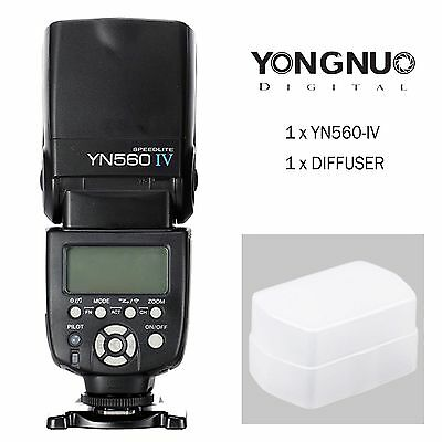 YongNuo YN-560 IV YN560-IV Wrieless Speedlight Flash For Canon Nikon Camera AU