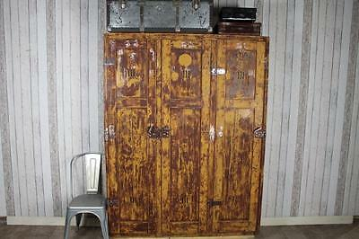 1920S Pine Lockers Storage Units Cabinets