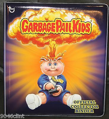 TOPPS 2013 EXCLUSIVE GARBAGE PAIL KIDS ADAM BOMB PURPLE BINDER W ULTRA PRO PAGES