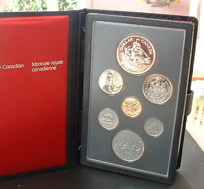 CANADA  1979   PROOF DOUBLE DOLLAR SET  ***7 COINS***