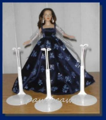 3 Doll Stands for TINY KITTY COLLIER Coquette CissyJill Little Miss Revlon