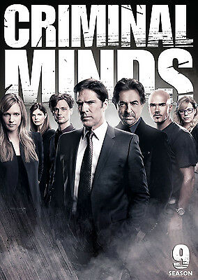 Criminal Minds Season 1 2 3 4 5 6 7 8 9 COMPLETE DVD SERIES FACTORY SEALED NEW!