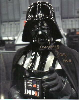 David Prowse as Star Wars Darth Vader Autographed Picture 8 x 10 Photo Card #2