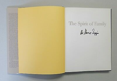 "Al Gore & Tipper Gore Signed "" Spirit of Family "" Hardcover Book AUTO"
