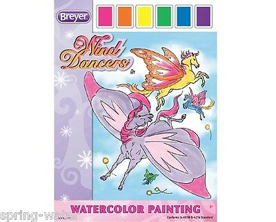Breyer Horse Wind Dancers  Watercolor Painting <>< for young artist
