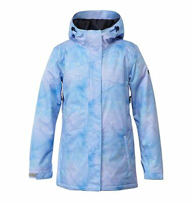 New 2015 DC Womens Fuse Snowboard Jacket Medium Ice Crystals