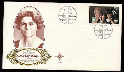 South Africa 1979 Christmas Stamp Fund FDC First Day Cover #C13700