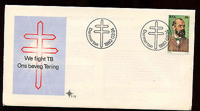 South Africa 1982 Tubercle Bacillus First Day Cover #C13719