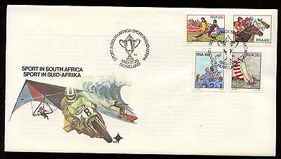 South Africa 1983 Sport FDC First Day Cover #C13725