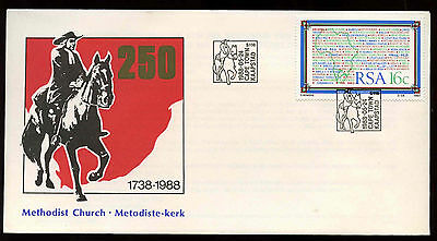 South Africa 1988 Methodist Church Cover #C13806