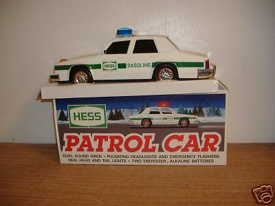 ~Hess~Patrol Car~1993 Edition~Mint With Box~