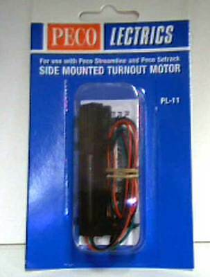 Peco Lectrics PL-11 Side Surface Mounted Turnout Point Motor for Model Railways