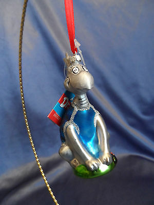 Dr Seuss Glass Yertle the Turtle Christmas Ornament NWT