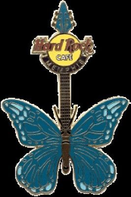 Hard Rock Cafe MEMPHIS 2004 Tattoo BUTTERFLY GUITAR Series PIN LE 500 HRC #21960