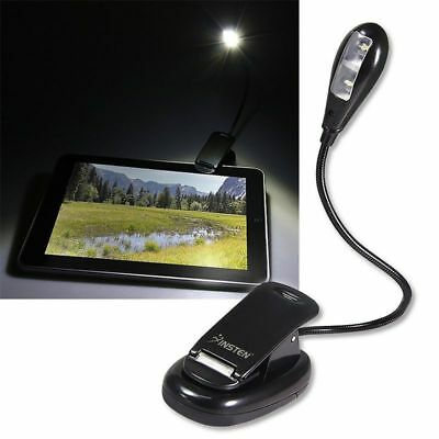 FLEXIBLE BOOK READING LED CLIP ON BRIGHT LIGHT LAMP FOR BN Nook Simple Touch