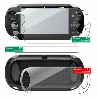 Clear Full Body LCD Front Back Screen Protector For Sony PS Vita PSV