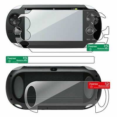 Clear Full Body LCD Front&Back Screen Protector Guard For Sony PS Vita PSV